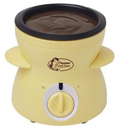 Un appareil à fondue chocolat