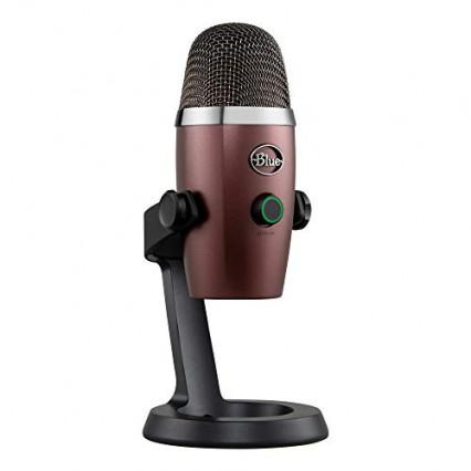 Blue Microphone USB à condensateur Yeti Nano Professional