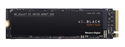 WD Black SN750 SSD interne NVMe