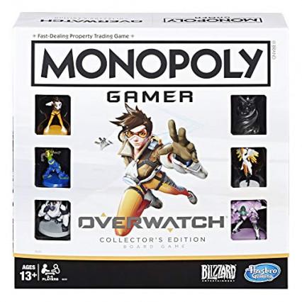 Monopoly Overwatch - Jeu de Société Edition Collector
