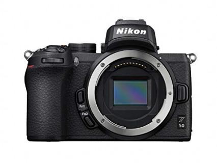 Le boîtier hybride Nikon Z50