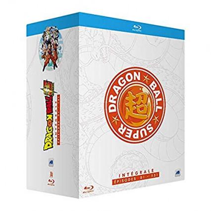 L'intégrale des épisodes 1 à 131 de la série Dragon Ball Super en blu-ray et DVD
