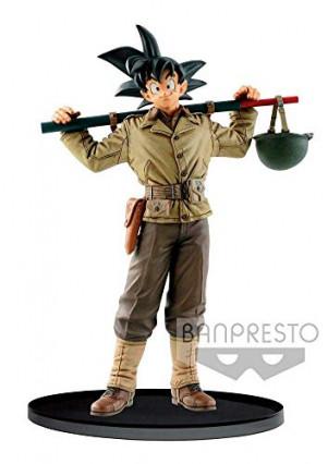 La figurine de Sangoku en soldat par Banpresto