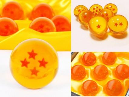Les sept boules de cristal dans leur écrin