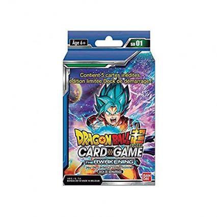 Le starter Dragon Ball Super bleu série 1