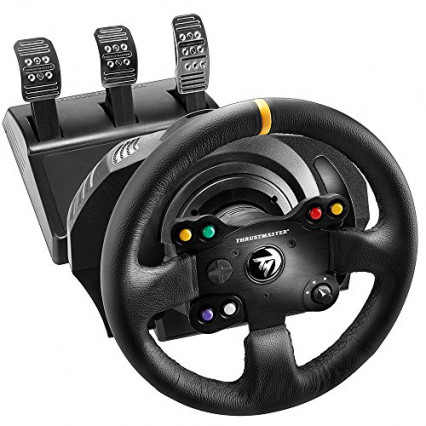 Le volant professionnel Thrustmaster TX Racing Leather Edition