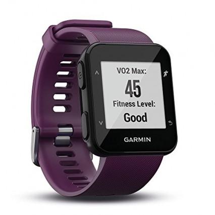 Garmin Forerunner 30 - Montre GPS de Course à Pied avec Cardio Poignet - Violet