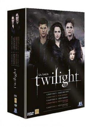 L'intégrale des films Twilight en DVD