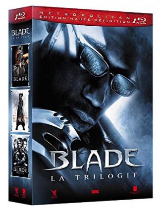 La trilogie Blade en blu-ray