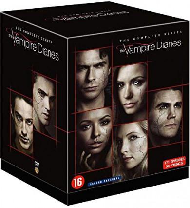 L'intégrale en DVD de la série Vampire Diaries