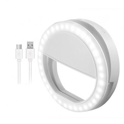 La ring light a adapter sur smartphone
