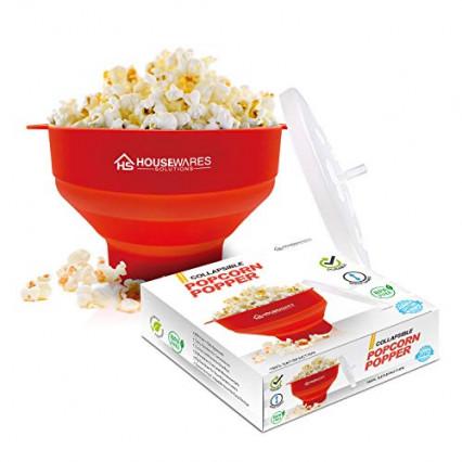 Un saladier pour faire du popcorn au micro-onde