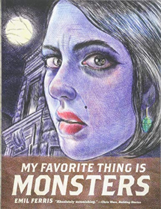My favorite thing is monsters par Emil Ferris