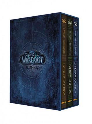 Le coffret des trois tomes des Chroniques de World of Warcraft