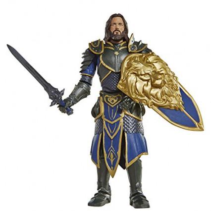 La figurine de Lothar, issue du film Warcraft