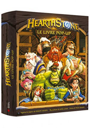 Le livre pop-up Hearthstone