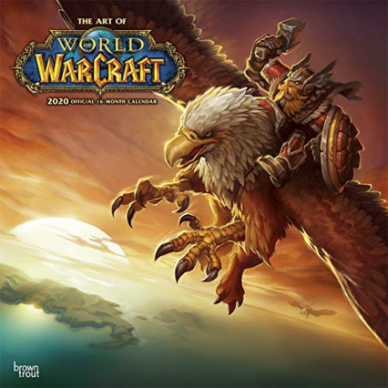Le calendrier de 16 mois The Art of World of Warcraft