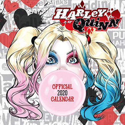Le calendrier Harley Quinn