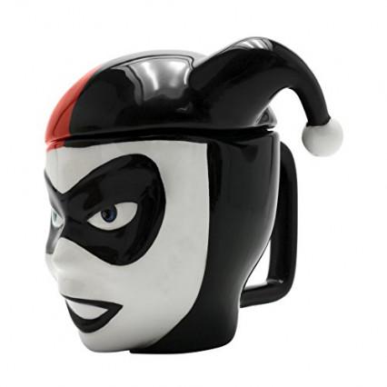 Le mug avec couvercle Harley Quinn