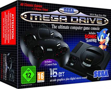 La console Sega Mega Drive Mini, pour retrouver le Sonic d'origine