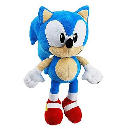 La peluche de 28 cm à l'image de Sonic