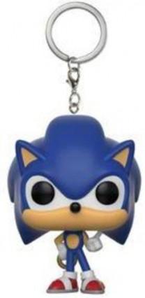 Un petit porte-clé Funko Sonic