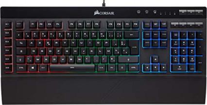 Le clavier gaming Corsair K55