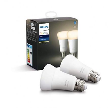 Lot de deux ampoules Philips Hue