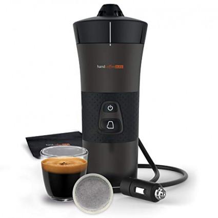 Une machine à café à dosettes portable