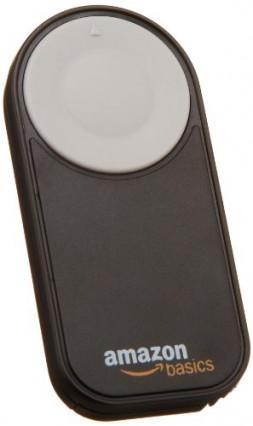 La télécommande AmazonBasics pour Canon