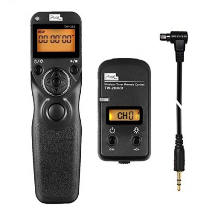 La télécommande radio avec intervallomètre Pixel TW-283/N3