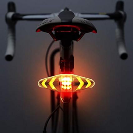 Une lumière pour vélo