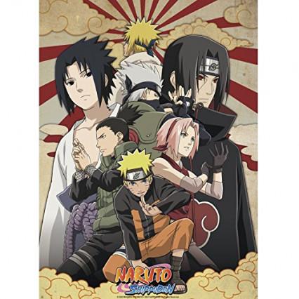 Un poster Naruto