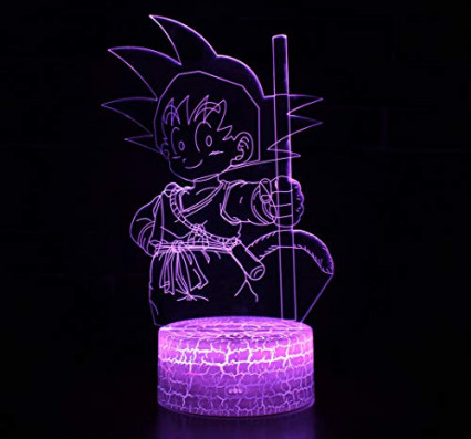 Une lampe de chevet en 3D