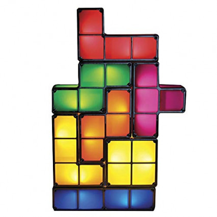 La lampe à LED Tetris
