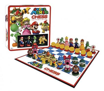 Un jeu d'échecs Mario