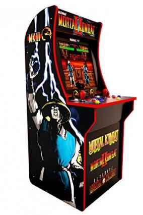 Une borne d'arcade Mortal Kombat