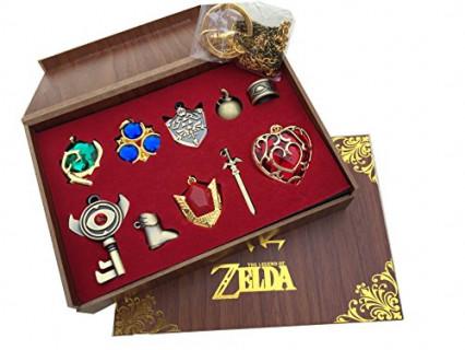 Un coffret de pendentifs The Legend of Zelda Twilight Princess