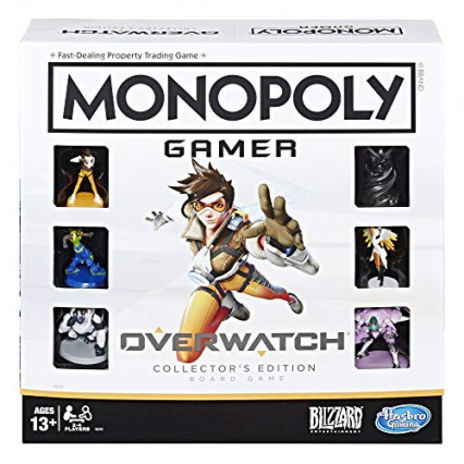 Le Monopoly Gamer Overwatch Collector's Edition