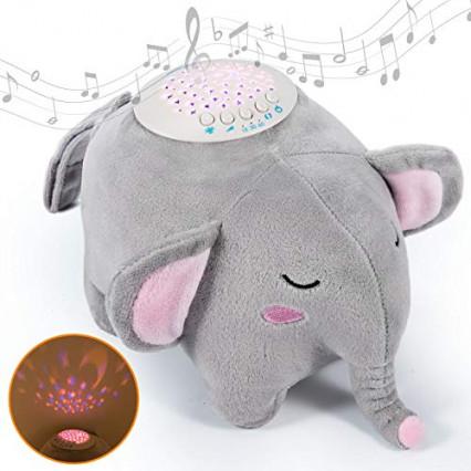 La machine à bruit blanc sous forme d'éléphant