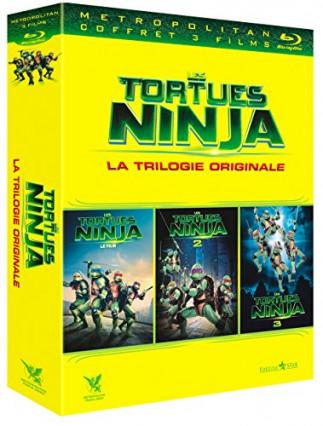 La trilogie des Tortues Ninja des années 90