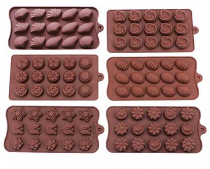 Les moules à chocolat