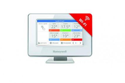Le thermostat evohome intelligent Honeywell Home THR99C3112 avec relais de commande chaudière