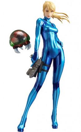 La figurine de Samus Aran sans armure