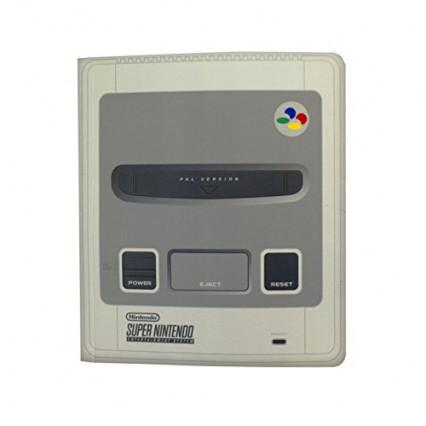 Un carnet de note Super Nintendo