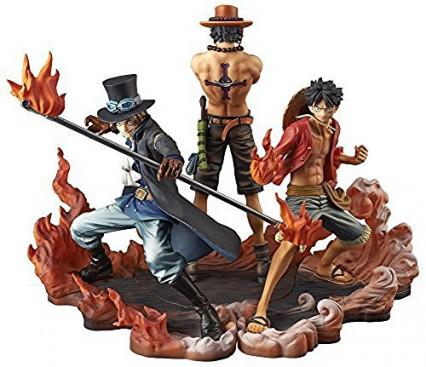 Set de 3 figurines One Piece par Banpresto
