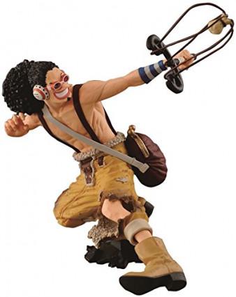 Une figurine King of Artist d'Usopp, le canonnier de la bande