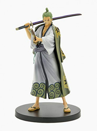 Une figurine Banpresto de Roronoa Zoro