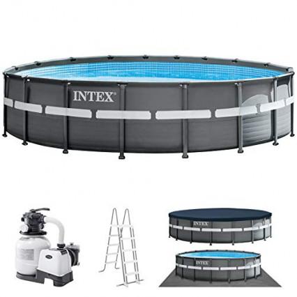 Une piscine autoportée Intex Ultra XTR