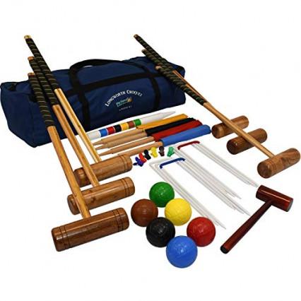 Un ensemble de croquet Longworth Croquet